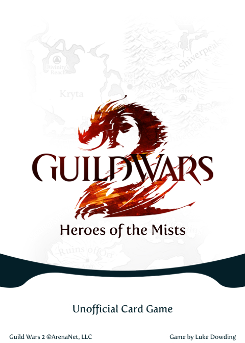 Backing Card Guild Wars 2 Card Game