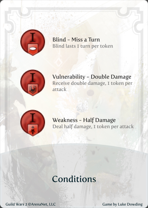 Info Card Guild Wars 2 Card Game