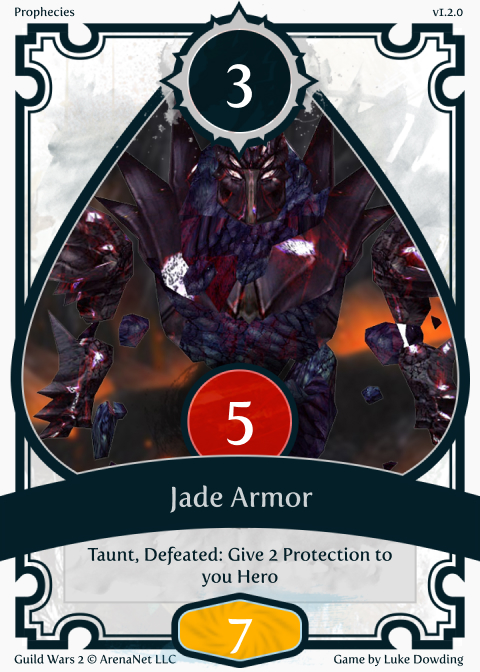 Basic Card Guild Wars 2 Card Game
