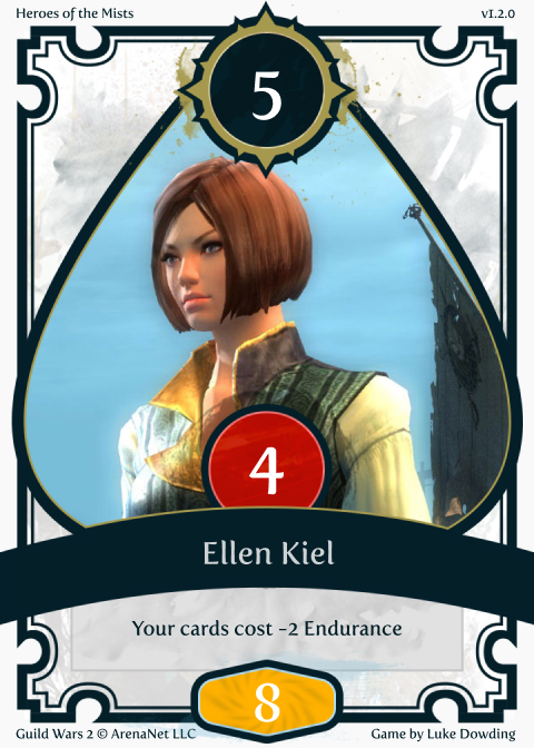 Exotic Card Guild Wars 2 Card Game