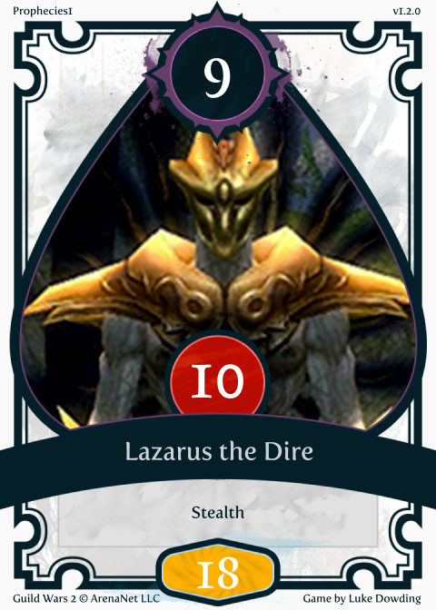 Legendary Card Guild Wars 2 Card Game