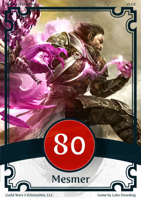 Professions Mesmer Guild Wars 2 Card Game