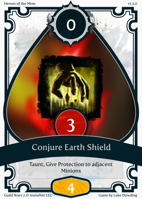Elementalist Skill Guild Wars 2 Card Game