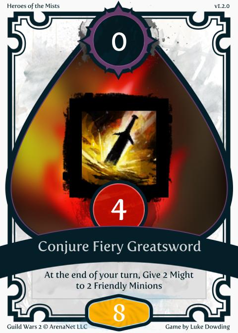 Elementalist Skill Guild Wars 2 Card Game