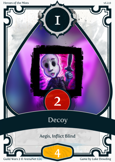 Mesmer Skill Guild Wars 2 Card Game