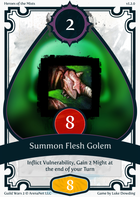 Necromancer Skill Guild Wars 2 Card Game