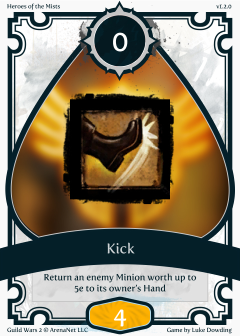 Warrior Skill Guild Wars 2 Card Game