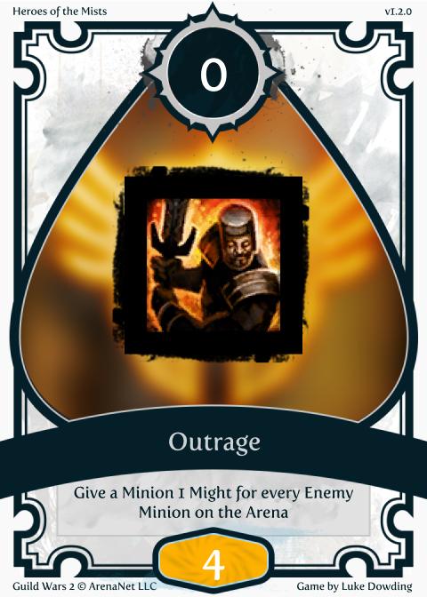 Warrior Skill Guild Wars 2 Card Game